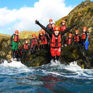 Coasteering activities
